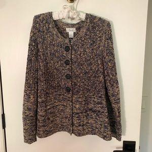 Foxcroft sweater L